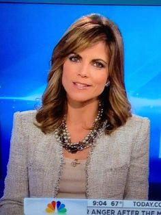 Natalie Morales looking beautiful in the Astor 5 Strand on the Today Show. Natalie Morales, Tv Girls, Power Dressing, Friend Outfits, Today Show, Aging Gracefully, Cute Hairstyles, New Dress, Nice Dresses