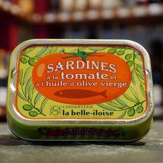 Sardine Tomate und Olivenöl