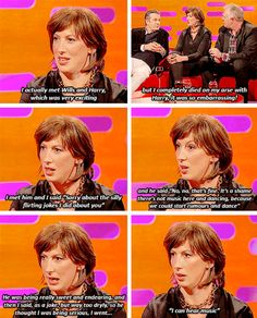 It's OK to get starstruck once in a while. 18 Times Miranda Hart Spoke The Absolute Truth British Humor, British Comedy, Miranda Hart Quotes, Gentleman, Comedy Tv, I Love To Laugh, Hilarious, Funny Shit, Funny Stuff