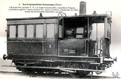 Built for the Nord company, superheated steam, 2 equal cylinders, 1 powered axle and 1 unpowered, reboilered in Old Steam Train, Automobile, Steam Railway, Rail Car, Old Trains, Train Pictures, Steam Engine, Steam Locomotive, Model Trains