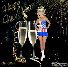 betty boop new years pictures bing images