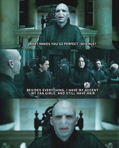 Harry Potter #snape #voldemort