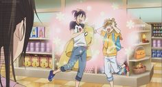 Noragami l ...The power of Capypa Land is so great, that even the cool Yukine is infected...
