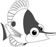 nemo coloring pages to print finding nemo coloring pages finding nemo