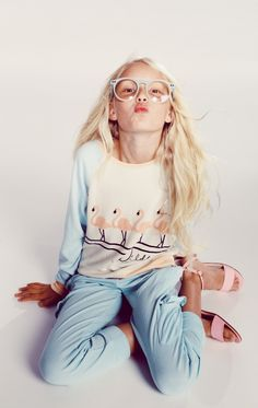 The Wildfox Kids Dancin' Raglan Beach Jumper
