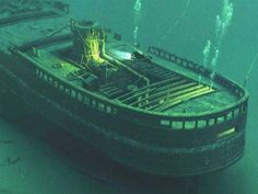 Documentation of Steamer Vienna - Lake Ontario Abandoned Ships, Abandoned Places, Great Lakes Shipwrecks, Great Lakes Ships, Lake George, Underwater World, Underwater Shipwreck, Lake Superior, Lake Life