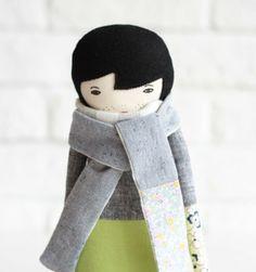 beautiful handmade doll - love :)