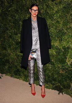 Jenna Lyons  Jenna Lyons at the CFDA/Vogue Fashion Fund Awards in New York.