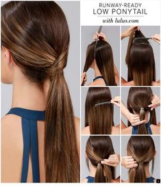 25 DIY hairstyles you can do with these step-by-step tutorials - DIY . - 25 DIY-Frisuren, die Sie mit diesen Step-by-Step-Tutorials machen können – DIY … 25 DIY hairstyles you can do with these step-by-step tutorials – DIY & Crafts Ponytail Hairstyles Tutorial, Step By Step Hairstyles, Braided Hairstyles, Cool Hairstyles, Wedding Hairstyles, Simple Ponytail Hairstyles, Low Pony Hairstyles, Ponytail Tutorial, Graduation Hairstyles