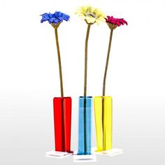 Single Flowerpots - Shopping Online - #christmas #gift #ideas #natale #regali #Designtrasparente #acrylic #lucite #plexiglass