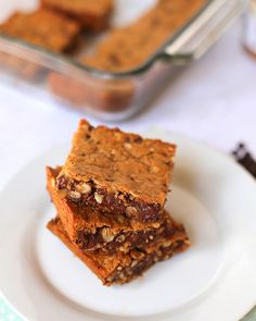 Must-Make Chocolate Chip Almond Butter Bars