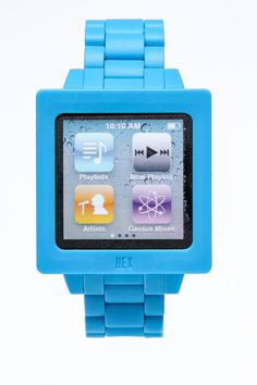 Strap that turns an iPod Nano into a watch