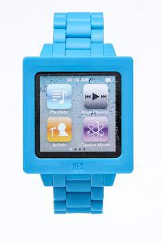 Strap that turns an iPod Nano into a watch