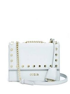 GUESS Doheny Metallic Envelope Cross-Body ( 55) ❤ liked on Polyvore  featuring bags b3b19be119a1a