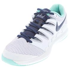 Find the latest styles at Tennis Express Nike Tennis Shoes, Sneakers Nike, Shoe Lacing Techniques, Tennis Store, Air Zoom, Types Of Shoes, Midnight Blue, Amazing Women, Nike Free