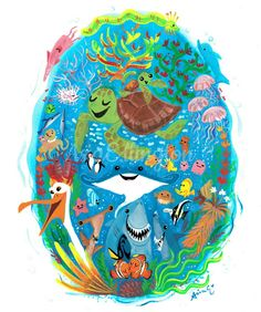 Disney Mickey, Disney Art, Disney Pixar, Walt Disney, Usagi Yojimbo, Disney Illustration, Finding Dory, Bendy And The Ink Machine, Monsters Inc