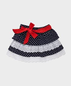 Falda con volantes ROBERTO TORRETTA Little Girl Skirts, Little Girl Dresses, Girls Dresses, Toddler Dress, Toddler Outfits, Kids Outfits, Baby Skirt, Baby Dress, Cute Skirts