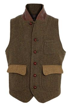 Customellow tweed waistcoat - GQ.COM (UK)