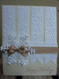 Elegant Snowflake Card from Splitcoast stampers
