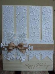 Elegant Snowflake Card from Splitcoast stampers