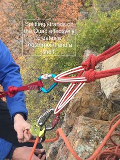 The Masterpoint, The Shelf, The Components: Anchor Anatomy in Action — The American Alpine Club Rock Climbing Equipment, Rock Climbing Training, Climbing Workout, Climbing Wall, Ice Climbing, Rock Climbing Techniques, Trekking, Alpine Climbing, Climbing Backpack