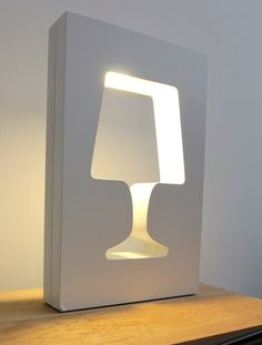 OUTLIGHT table #lamp by La Corbeille Editions | #design Benjamin Faure