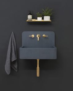 kast launches new 'kast canvas' series of patterned concrete basins