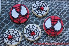 Bringing Beauty: Spider Man Cookies