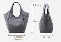 "Simplicity Canvas Women Tote Bag, Handbag 1282 Model Number: 1282 Dimensions: 19.6""L x 7.4""W x 15.7""H / 50cm(L) x 19cm(W) x 40cm(H) Weight: 0.88 lb / 0.62kg Shoulder Strap: Adjustable Color: White / Blue / Gray / Coffee Material: Canvas / Cotton and Leather Features: 1. High quality cotton canvas and Leather. 2. Colors may vary from screen to screen 3. Inside zipper pocket, cell pocket, money pocket If you have any questions or need our help then contact us. We'd love to hear from you. Our…"