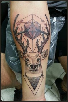 Cervo e geométrico By Nelsinho Maciel