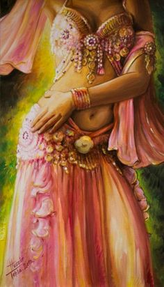 Bellydance Paintings | Syamart