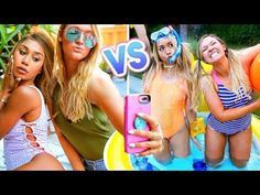 Girls in Summer Now vs Then! AlishaMarie - YouTube