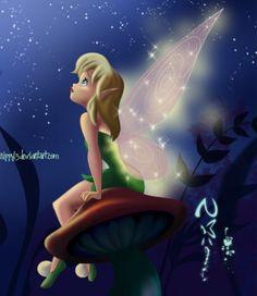 Disney~❣~Treasures Tinkerbell And Friends, Tinkerbell Disney, Peter Pan And Tinkerbell, Tinkerbell Fairies, Peter Pan Disney, Disney Fairies, Tinkerbell Movies, Merida Disney, Tinkerbell Wallpaper