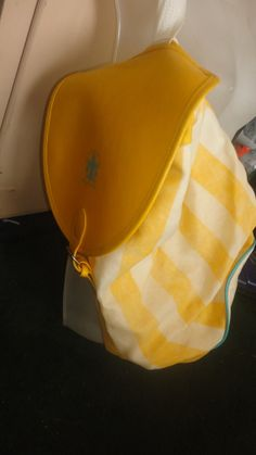 Yellow and white stripe Giorgio Beverly by PatsapearlsBoutique, $21.99