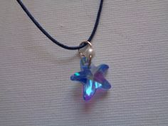 Mermaid style starfish necklace by TinkerGirlBoutique on Etsy
