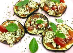 Pizzas de Berinjela | Veganize-se