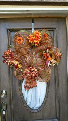 Fall wreath $40
