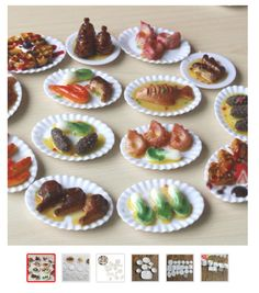 10Pcs Cheeses Dollhouse Miniatures TOY Mini Simulation Food For Doll US
