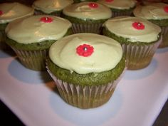 Vegan Adventure #4: Cause Green Tea Cupcakes are Slutty | When in Doubt...Leave it at 350
