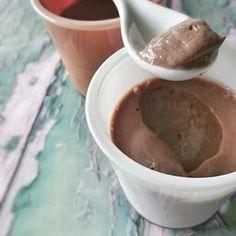 Crème au Chocolat & Mandarine Veggies, Pudding, Desserts, Food, Chocolate Cream, Vegetarian Cooking, Healthy, Greedy People, Essen