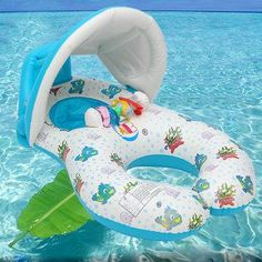 NewChic - NewChic Inflatable Mother Baby Safe Swimming Ring Kids Toy Raft Seat Floating Chair Beach Toy - AdoreWe.com