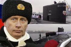 Putin Pamerkan Kapal Selam Siluman Terbaru Rusia dan Berjanji Jaga Laut Hitam