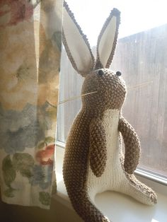 Vintage Rabbit pattern. This is precious