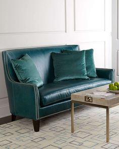 Sea Isle Leather Sofa