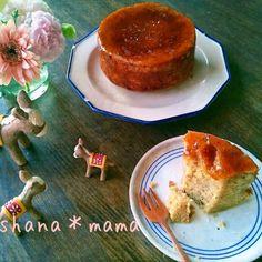 表面パリッパリ~♪濃厚キャラメルバナナブリュレケーキ♪ Sweets Recipes, Bread Recipes, Cake Art, Yummy Treats, Deserts, Food And Drink, Meals, Baking, Breakfast