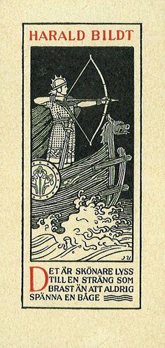 [Ex libris Harald Bildt] by Stifts- och landsbiblioteket i Skara, via Flickr