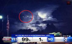 WITNESSES: Mass Sighting of UFO over Houston Texas and the World