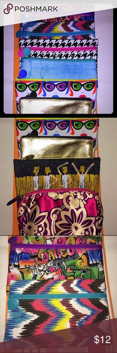 8 New Make Up Bags Brand New make up bags! Makeup Brushes & Tools