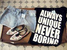 Please say something my dear t-shirt!! ;-)
