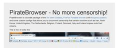 Lktato.blogspot.com: The Pirate Bay lanzó su navegador para evitar censura